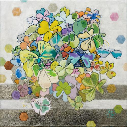 井上花 「幾何学×プリズム」