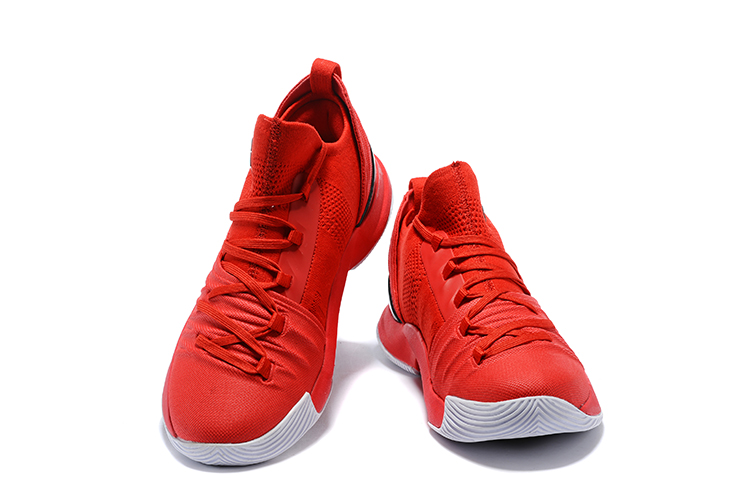 Under Armour Curry 5 Low レッド/ホワイト メンズ Under Armour 3020657-002 アンダーアーマー カリー5 ロー Red/White Mens 赤白 メンズ バスケットボール シューズ