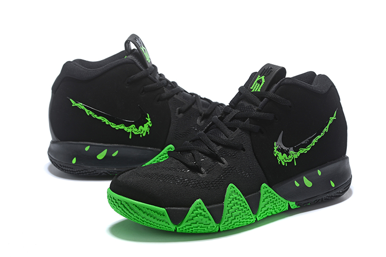 ナイキカイリー 4 943807-012 ハロウィン ブラック/レイジグリーン メンズ/ウィメンズ Kyrie 4 Nike Kyrie 4 EP Black/Rage Green Mens/Wmns 黑绿 メンズ/ウィメンズ バスケットボール シューズ