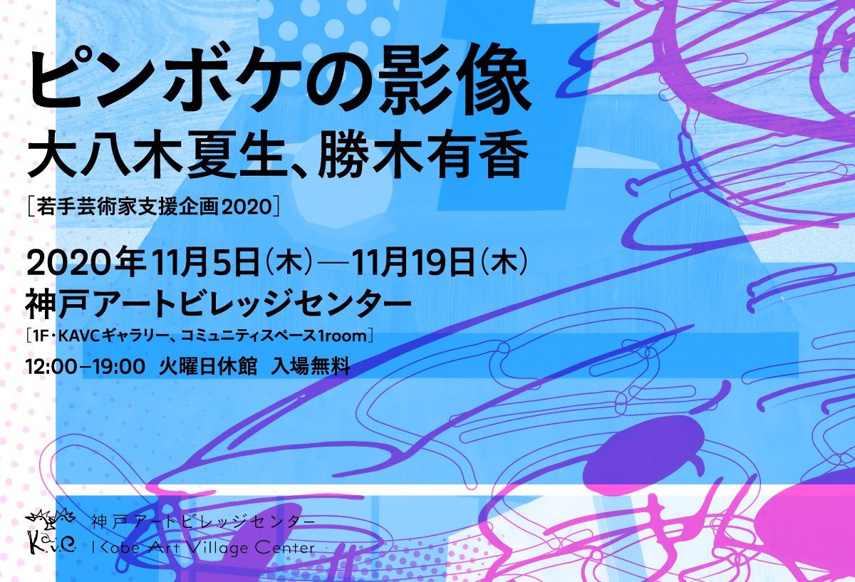 若手芸術家支援企画2020「ピンボケの影像」